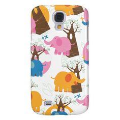 African Elephants Samsung Galaxy S4 Case