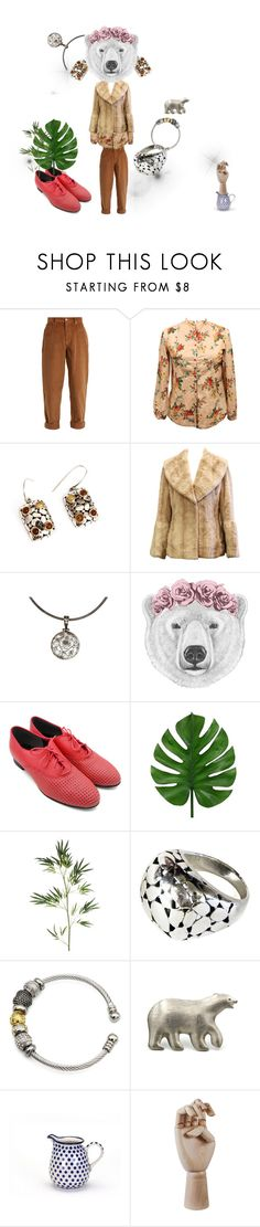 """Mother Bear has a Dream for You"" by conrado-rafael-maleta ❤ liked on Polyvore featuring Miu Miu, Pier 1 Imports, HAY, vintage, etsy and accessories"