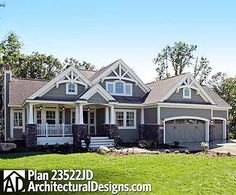 Plan W23522JD: Craftsman, Northwest, Photo Gallery House Plans & Home Designs