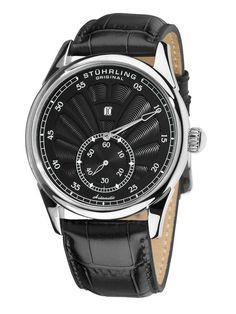 Men's Patriarch Black Watch by Stuhrling Original #watches