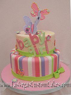 baby shower cakes for girls | Pin Cakes Baby Shower Etc Lexington Ky She Bakes Llc Cake on Pinterest