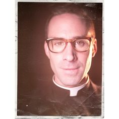 Monsignor Timothy Howard ❤ liked on Polyvore featuring american horror story, actor, fx, entertainment, chloÃ« sevigny, backgrounds, asylum, americanhorrorstory, ahsfx and tv