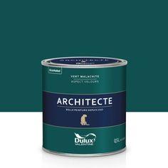 Peinture vert malachite velours DULUX VALENTINE Architecte 0.5 l   Leroy Merlin