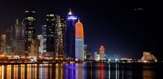 January 2014 Cover Photo Contest winner VT member greekcypriot for her nighttime shot of #Qatar!