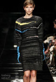 Knitting dress 2013. Вязаные платья - вдохновляемся!. Обсуждение на LiveInternet - Российский Сервис Онлайн-Дневников
