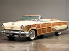 1955 Lincoln Capri Rag Top Woody!