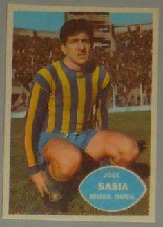 Jose Sasia - Rosario Central - #63 - 1965