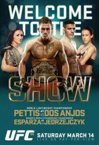 UFC 185 Fightcard