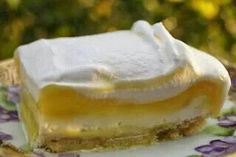 Lemon Cream Cheese Desert