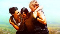 Kate Austen, Charlie Pace, and Boone Carlyle on LOST
