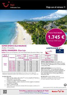 Súper oferta Isla MAURICIO - Hotel Dinarobin (Gran Lujo). Precio final desde 1.745€ - http://zocotours.com/super-oferta-isla-mauricio-hotel-dinarobin-gran-lujo-precio-final-desde-1-745e-4/
