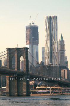 The New #Manhattan | #NewYork #NYC - Salt Water Wishes