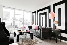 an entire apartment in black & white (and why it works!)