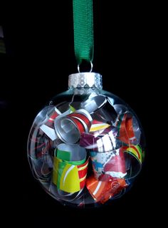 Recycled Soda Can Ornament