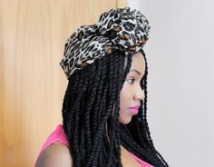 Senegalese twist twists natural hair style