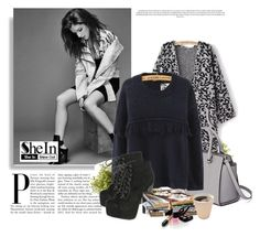 """SHEIN 2/8"" by amelaa-16 ❤ liked on Polyvore featuring MICHAEL Michael Kors, Breckelle's, Nearly Natural and Chanel"