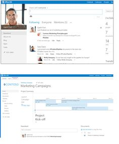 SharePoint 2013 Overview -  Connect with employees across the enterprise & Organize Whether working as a team or an individual, SharePoint helps you organize information, people and projects