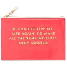 Kate Spade Same Mistakes Pencil Pouch ($30) ❤ liked on Polyvore featuring home, home decor, office accessories, kate spade pouch, kate spade pencils, kate spade, kate spade pencil case and kate spade pencil pouch