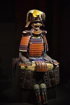 'Samurai! Armature giapponesi dalla collezione Stibbert'. Gusoku in the special exhibition held at the Stibbert Museum in 2014.