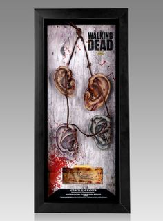 The Walking Dead Daryl's Walker Ear Necklace