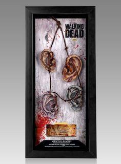 The Walking Dead Daryl's Walker Ear Necklace