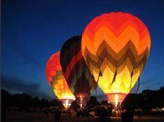 Volar en globo sobre Gales, UK.
