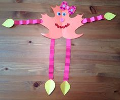 Leaf Girl Craft - Leaf Man Craft - Fall Craft