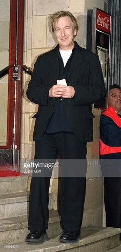 Alan Rickman attends a Madonna concert at London's Brixton Academy. November 28, 2008 photo: Justin Goff