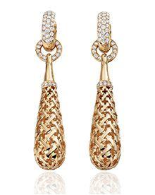 Bijoux Design, Jewellery Designs, Moroccan Jewelry, Or Rose, Bling, Jewels, Drop Earrings, Diamond, Pendant
