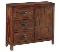 Accent Tables - Rustic Accents Cabinet | Ashley Furniture