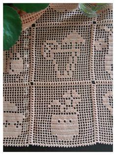 Crochet Patterns Filet, Beading Patterns Free, Christmas Crochet Patterns, Crochet Stitches, Crochet Art, Crochet Round, Crochet Squares, Crochet Numbers, Fillet Crochet