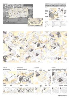 AA School of Architecture Projects Review 2012 - Diploma 11 - Madeleine Kessler Architecture Concept Diagram, Architecture Presentation Board, Architecture Panel, Presentation Layout, Architecture Graphics, Architecture Student, Architecture Drawings, Architecture Design, Architectural Presentation