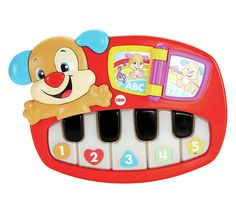 Buy Fisher-Price Laugh & Learn Puppy's Piano at Argos.co.uk, visit Argos.co.uk to shop online for Musical toys and instruments, Baby and pre-school toys, Toys