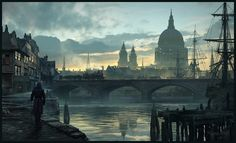 ArtStation - Assassin's Creed - London Mood - , Raphael Lacoste