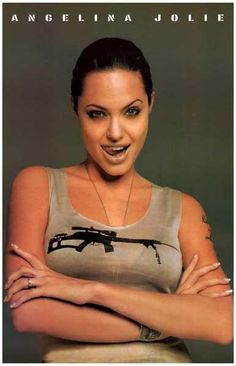 A great portrait poster of Hollywood superstar Angelina Jolie! Ships fast. 11x17 inches. Need Poster Mounts..?