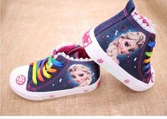Elsa and Anna Princess shoes