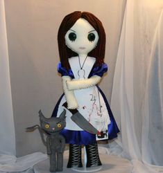 Creepy Rag Doll Alice from Madness Returns