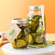 Easy Refrigerator Pickles ~ This is a great way to use the abundance of cucumbers and onions from the garden.  Makes 24 servings!