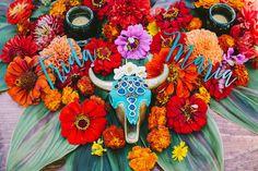 Spanish-styled wedding florals | Wedding & Party Ideas | 100 Layer Cake