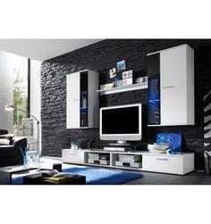Ensemble meuble TV ZINC- Décoration séjour