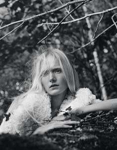 Maja Salamon by Benjamin Vnuk for Scandinavia S:S:A:W Magazine Spring:Summer 2015 3