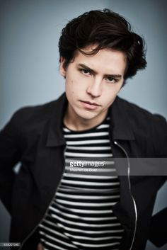 Cole Sprouse from CW's 'Riverdale' poses in the Getty Images Portrait Studio at the 2017 Winter Television Critics Association press tour at the Langham Hotel on January 8, 2017 in Pasadena, California.