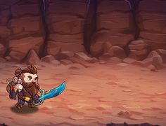 I work on Mine Quest 2, a mobile game from Tapps Games, as Lead Artist.Participate from the art direction to promotional art. I work on characters,props design, rigging,animation,the gameplay background tile art,menu screens that need fancy animation…