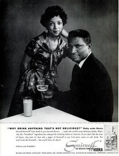 Ruby Dee and Ossie Davis ad