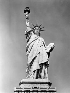 size: Photographic Print: Statue of Liberty NY Harbor Ellis Island National Monument 1886 : Statue Of Liberty Tattoo, Best Homemade Pancakes, Liberty Island, Ellis Island, Find Art, Framed Artwork, Tattoos For Guys, 1930s, Poster