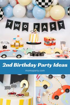 8 Most Popular Birthday Themes for Your Toddler - - 8 popular party themes for baby's birthday celebration for boys and girls. Check out all the party ideas and recreate the look easily at home. 2nd Birthday Party For Boys, Second Birthday Ideas, Cars Birthday Parties, Birthday Celebration, Baby Boy Birthday Themes, Toddler Boy Birthday, Baby Themes For Boys, Car Themed Birthday Party, Birthday Cards