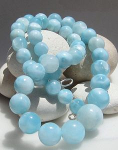 Larimar moonlight blue beads