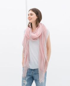TWO-TONE EXTRA LIGHT SCARF