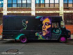 ROLLING BEAUTY - Composition Thursday #PhotoOfTheDay #ArtTruck #graffitiart #graffitilove #artoftheday #artwork #streetart #spraypaint #Brooklyn #NewYork #Bushwick #ArtsInActionBushwick #brooklynstreetart #graffitinyc #graffiti #streetart #avisualbliss #nycgraffiti #nycstreetart #trailer #streetphotography #Photography #iPhonePhotography #Art #ErikMcGregor #2017 #ErikMcGregor  © Erik McGregor - erikrivas@hotmail.com - 917-225-8963