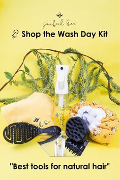 5 Tool Bundle for Natural Hair - The Wash Day Kit